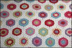 Half Hexagon Pattern Crochet | Learn to Crochet