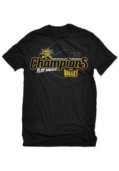 Wichita State (WSU) Shockers T-Shirt - Black WSU Basic Short Sleeve Tee http://www.rallyhouse.com/college/wichita-state-shockers/a/t-shirts/b/mens-t-shirts?utm_source=pinterest&utm_medium=social&utm_campaign=Pinterest-WSUShockers $19.99