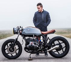 BMW R80 Cafe Racer von Ironwood Custom Motorcycles #bike #custom #motorcycle #moto #bmw #r80 #caferacer