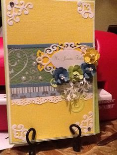 Spell binders card for teachers appreciation