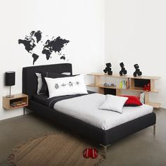 Worldmap wall sticker