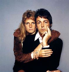 onlyoldphotography: Francesco Scavullo: Paul and Linda McCartney, 1970s