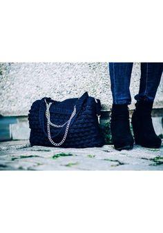 """""""Blue Blossom"""" Tote Bag Tote Bags, Blue, Carry Bag"""