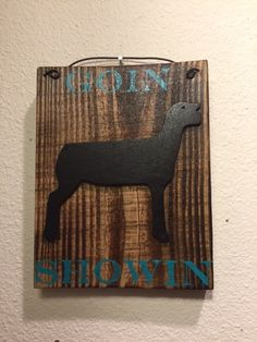Show lambs, 4H lamb, livestock decor, show livestock decor, FFA, wooden sign, inspirational quote, personalized sign, reclaimed wood sign by CraftedSimplyInc on Etsy