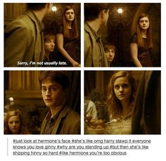 its okay hermione i ship hinny too<---- everyone ships Hinny:)