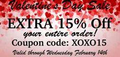 Hofcraft Valentine's Day Sales Event 2018