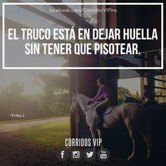 Ahi esta el truco.!   ____________________ #teamcorridosvip #corridosvip #corridosybanda #corridos #quotes #regionalmexicano #frasesvip #promotion #promo #corridosgram