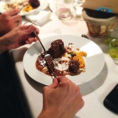 Kitchen Guerilla Rezepte -  Schoko Ragout mit Rosenthal Format