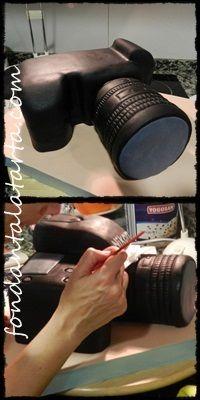 Fondant a la tarta: Paso a paso tarta cámara de fotos Nikon D800