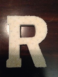Items similar to Custom Pearl letters on Etsy Pearl Letters, Monogram Wall, Party Ideas, Symbols, Pearls, Unique Jewelry, Handmade Gifts, Projects, Vintage