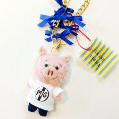 【 designer 】Akane Ishiga【商品説明】color|dusty pinksize|ぬいぐるみ部分 たて約9cm×よこ(顔部分)...|ハンドメイド、手作り、手仕事品の通販・販売・購入ならCreema。