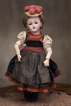 "12"" (30 cm) Antique German SIMON & HALBIG DOll 1248, original dress"