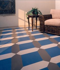 Rubber floor installation at Harn Flooring and Blinds of San Diego