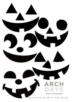 風船やかぼちゃに貼るだけ♪簡単パンプキンフェイスのデコレーション今年のハロウィンの準備は進んでいます…