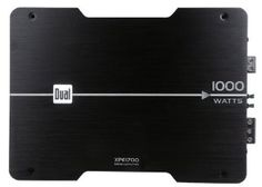 Dual XPE1700 1000 Watt MOSFET Powered Mono Channel Amplifier by Dual. $89.54. Features, Low level inputs (RCA), Variable gain adjustment (200mV ~ 6V), Selectable crossover (low pass/full range), Variable low pass crossover, Bass boost (0, 6, 12dB), Selectable subsonic filter (@35Hz), PWM MOSFET power supply, Class AB output design, Extruded aluminum heatsink, Direct-wire connection terminals, Reverse polarity protection, Bi-color LED status indicator Specificatio...