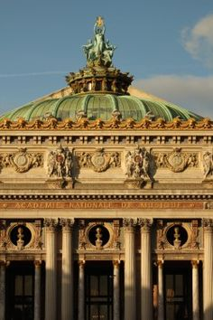 Roof of Paris Opera