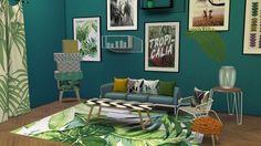 Meinkatz Creations: Urban Jungle Set • Sims 4 Downloads