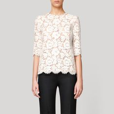 Lace: Stella McCartney long sleeve lace top - I'ma sucker for lace