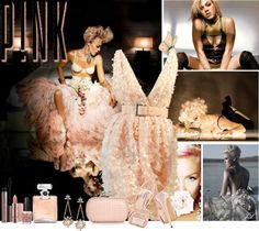 """""""P!NK"""" by jenalind ❤ liked on Polyvore"""