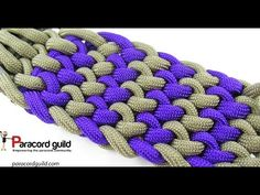 2 color conquistador braid - YouTube