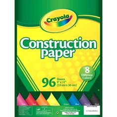 Crayola Construction Paper (99-3000)