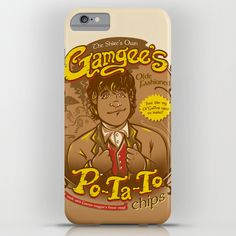 What's Taters Precious? Lord of the Rings Samwise Gamgee iPhone & iPod Case