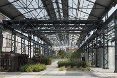 【工業遺産景觀設計精華】——法國南特鑄造廠花園景觀設計/ADH<wbr>DOAZAN+HIRSCHBERGER