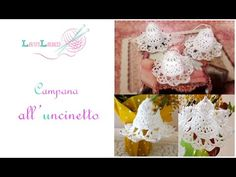 Campana Uncinetto - Bell Crocheted - YouTube