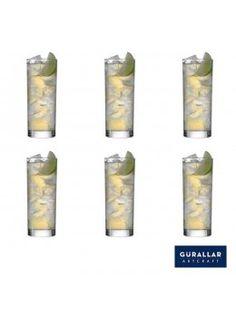 Buy Gurallar 6Pc Glass Tumbler Liberty 300 Ml-258003 online at happyroar.com