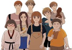 Odd Girl Out. Odd Girl Out, Honey Works, Online Manga, Webtoon Comics, Poster Pictures, Girls World, Manhwa Manga, Kawaii Anime, Nerd