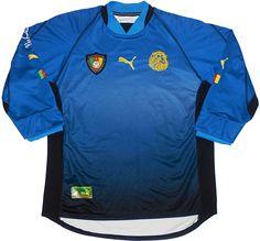 Cameroon (Fédération Camerounaise de Football) - 2002 World Cup Puma Goal Keeper Shirt