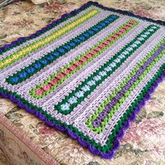Roses for Kennedy Mile a minute blanket