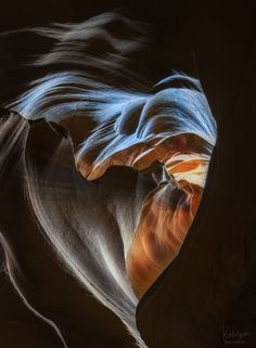 Heart of Stone - Antelope Canyon, Arizona
