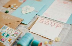 Embroidered Wedding Invitations for Special Wedding Day
