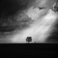 Athens-based George Digalakis creates moody landscape photos through a striking balance of minimalism and black and white photography.