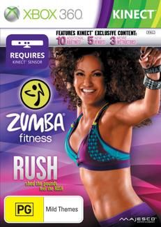 Zumba Rush Kinect - Need to get one ASAP :)