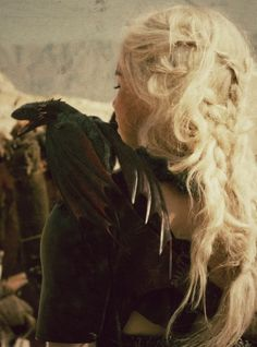 """""""They are mine,"""" she said fiercely. They had been born from her faith and her need, given life by the deaths of her husband and unborn son and the maegi Mirri Maz Duur. Dany had walked into the flames as they came forth, and they had drunk milk from her swollen breasts. """"No man will take them from me while I live."""""""