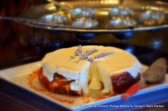 'Lavender Lemon Cheesecake'    You'll want to slather this cheesecake all over your body!  Yummmiclicious!    www.allyskitchen.com
