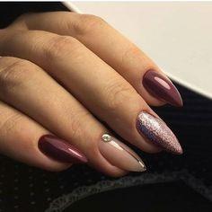 Work @ # nails # beautiful manicure nails # idemanicure Source by cskidalma Pointy Nails, Toe Nails, Nail Manicure, Gel Nail Art, Manicure Ideas, Manicures, Nail Ideas, Acrylic Nails, Nagel Stamping