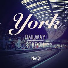 York Railway Station -Instagram
