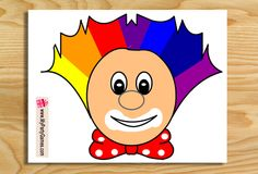 Today I have made this Free Printable Pin the Nose on the Clown…
