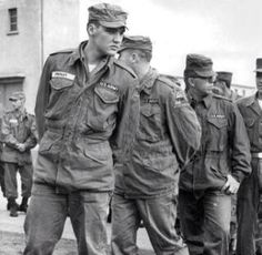 Elvis in the Army - Germany