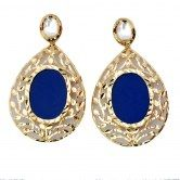 adorable-fashion-earrings-with-combination-of-royal-blue