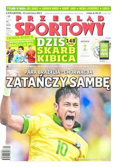 Sport naukowo - zobacz sport z innej strony: Polska prasa wita mistrzostwa świata w piłce nożnej (okładki)