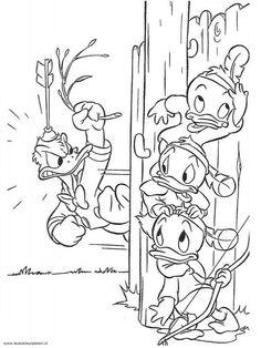 Kleurplaten Donald Duck Kwik Kwek En Kwak.43 Beste Afbeeldingen Van Kleurplaten Kleurplaten