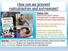 For PSHE / British Values / Citizenship / TutorTime: 1 hour PowerPoint, clip, worksheets, differentiated fully. An introduction to how radicalisation occur. School Resources, Teaching Resources, Citizenship Lessons, British Values, Character Education, Explain Why, Life Skills, Classroom Management, Vulnerability