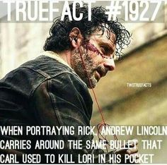 Wow never thought that better come up in the show.thats what the last person put you cant put it in the show because rick went down there after for all he knew Lori was stabbed remember a walker ate her Walking Dead Facts, Walking Dead Pictures, Walking Dead Tv Show, Walking Dead Funny, Fear The Walking Dead, Talking To The Dead, True Facts, Weird Facts, Dead Inside