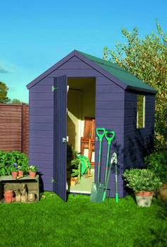 Lavender colour paint ideal for Garden Sheds, Planters, Garden Furniture and Bird Boxes