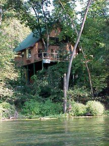 Imagine spending the night high in the canopy above the White River in Dora. This is fly-fishing/canoeing/hiking/bird watching paradise.