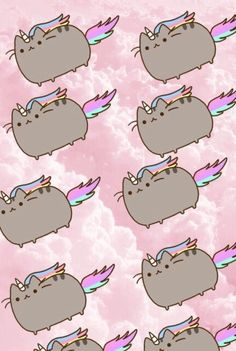 Most popular tags for this image include: cat, wallpaper, pusheen and background
